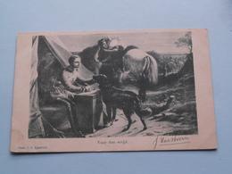 VOOR Den STRIJD (Eggenstein) Anno Stamp 1900 Bergen (N.H.) ( Zie/voir Foto Voor Details ) ! - Guerres - Autres