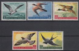 SAN MARINO - Michel - 1959 - Nr 606/10 - MH* - Poste Aérienne