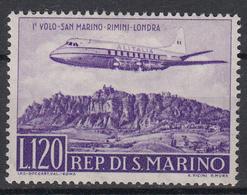 SAN MARINO - Michel - 1959 - Nr 618 - MH* - Poste Aérienne
