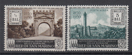 SAN MARINO - Michel - 1959 - Nr 624/25 - MNH**/MH* - Neufs