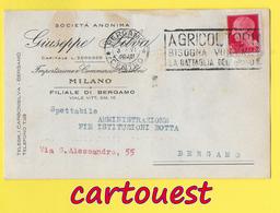 MILANO Importazione E Commercio Carboni  ֎ 1929 - Italie