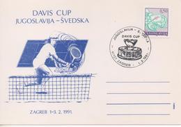Yugoslavia, Tennis, Davis Cup 1991, Yugoslavia-Sweden - Tennis