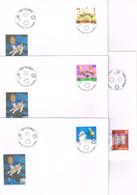TITEUF ET ILLUSTRATION TINTIN : 4 Enveloppes Du Salon Du Livre De Genève. 2004. - Bandes Dessinées