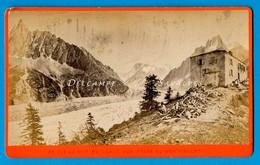 Chamonix Vers 1865 * Auberge Montenvers * Photo Albumine Charnaux - Voir Scans - Photographs
