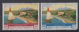 SAN MARINO - Michel - 1960 - Nr 665/66 - MH* - Saint-Marin