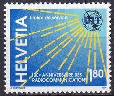 SCHWEIZ 1994 Mi-Nr. ITU / UIT 15 ** MNH - Dienstpost