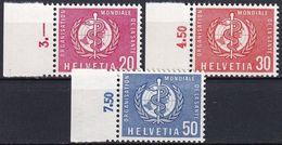SCHWEIZ 1960 Mi-Nr. OMS / WHO 32/34 ** MNH - Dienstzegels