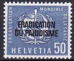 SCHWEIZ 1962 Mi-Nr. OMS / WHO 35 ** MNH - Dienstzegels