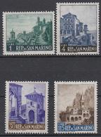 SAN MARINO - Michel - 1961 - Nr 682/85 - MH* - Saint-Marin