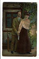 CPA - Carte Postale-Belgique-Photographie D'un Jeune Couple -1908  VM4429 - Photographie