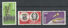 PANAMA  YVERT   AEREO   400/2   MNH  ** - Panamá