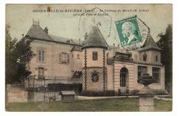 45 LOIRET - AUGERVILLE LA RIVIERE Château Du Mesnil, 2 Cartes - Other Municipalities