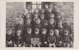 Carte-Photo De Classe - Combourg 1930-31 - Très Bon état - Dimensions Carte Postale - Combourg