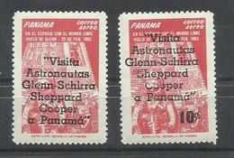 PANAMA YVERT AEREO  286/87  MNH  ** - Panamá