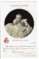 CPA - Carte Postale-Belgique - Souvenir Baptême De Léopold III Le 7/05/1902  - VM4431 - Familles Royales