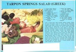 CART. X ITALY TARPON SPRINGS SALAD GREEK - Ricette Di Cucina