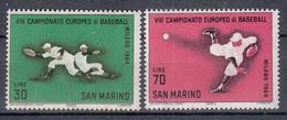 SAN MARINO - Michel - 1964 - Nr 824/25 - MNH** - Poste Aérienne