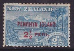 Penrhyn Island P.11 No Wmk SG 1 Mint Hinged Gum Toning - Penrhyn