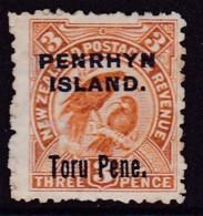 Penrhyn Island 1903 SG 14 Mint Part Gum Toning - Penrhyn
