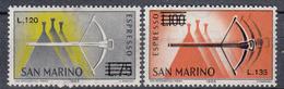 SAN MARINO - Michel - 1965 - Nr 843/44 - MNH** - Neufs