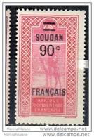 Soudan Français 1922-27 2ème Série Valeurs Surchargée Dallay 42 Neuf* - Neufs