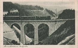 AK Mariazellerbahn Im Stockgraben Eisenbahn Zug Puchenstuben Winterbach St Anton Annaberg Mariazell NÖ Niederösterreich - Mariazell