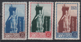 SAN MARINO - Michel - 1954 - Nr 523/25 - MH* - Neufs