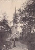Finistère - Saint-Jean-du-Doigt - L'église Vue Du Chemin - Saint-Jean-du-Doigt