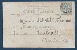 Algérie - Cachet Type 18  HUSSEIN DEY  ALGER - Poststempel (Briefe)