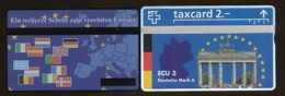SCHWEIZ Telefonkarte - ECU 3 Brandenburger Tor- 304L.. - Siehe Scan - 10651 - Schweiz
