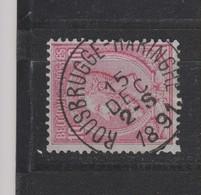 COB 46 Oblitération Centrale ROUSBRUGGE-HARINGHE Superbe - 1884-1891 Leopold II