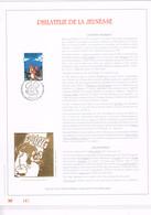 FEUILLET D'ART 500 EXEMPLAIRES, OR FIN 23 CARATS : Chlorophylle. 1996 - Bandes Dessinées
