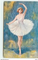 N°6619 - Gayac - Danseuse - N°357 - 4ème Série - Other Illustrators