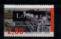 """France 1993: Timbre N° 2852 Du Diptyque Y&T** N° 2852B """" Bicentenaire De La Création Du Musée Du Louvre """" - France"""