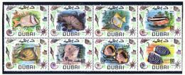 1969 - DUBAI. -  Mi. Nr.  345/352 - LH - (CW4755.40) - Dubai