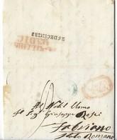 REGNO DI NAPOLI - DA NAPOLI A FABRIANO - 22.12.1852. - Italia