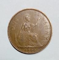 GREAT BRITAIN / GRAN BRETAGNA - One Penny ( 1966 ) Elizabeth II - 1902-1971 : Monete Post-Vittoriane