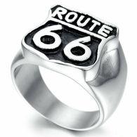 BAGUE ROUTE 66 COULEUR ARGENT TAILLE 9 - Rings