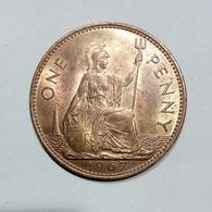 GREAT BRITAIN / GRAN BRETAGNA - One Penny ( 1967 ) Elizabeth II - D. 1 Penny
