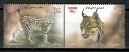 Iran 2016 / Mammals Lynx MNH Mamiferos Felinos Lince / Cu13134  18-43 - Felinos
