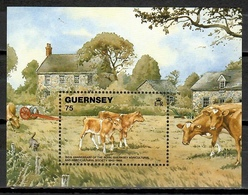 Guernsey 1992 / Cows Mammals MNH Säugetiere Vacas Mamiferos / C11915  C5-9 - Vacas
