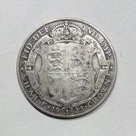 GRAN BRETAGNA / GREAT BRITAIN - HALF CROWN ( 1923 ) GEORGE V - 1902-1971 : Monete Post-Vittoriane