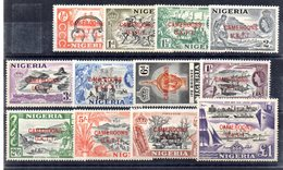 Serie Nº 1/12 Nigeria - Nigeria (...-1960)