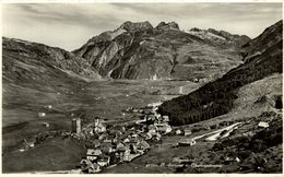 ANDERMATT GEGEN HOSPENTAL. Suiza Switzerland Suisse Schweiz - UR Uri