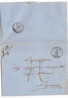 DA URBINO A PESARO - 31.12.1862 - PORTO ASSEGNATO. - 1861-78 Vittorio Emanuele II