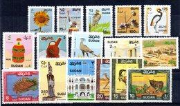 Serie Nº 398/413 Sudan - Sudan (1954-...)