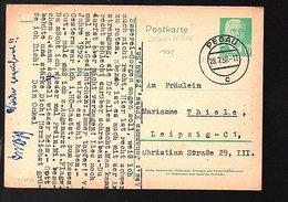 Michel P68 1958 PEGAU > Marianne Thiele Leipzig (339) - [6] République Démocratique