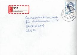 ! 1 Einschreiben ,1994, Selbstklebender  R-Zettel  Aus Löcknitz, 17321 - BRD