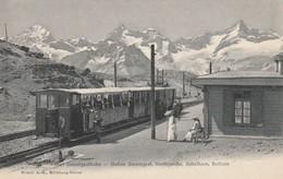 TRAIN STATION  GORNERGRAT GORNERGRATBAHN - VS Valais