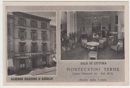 Montecatini Terme - Albergo Massimo D'Azeglio - Italia